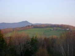 Haystack Mountain from F.D. Reeves' House