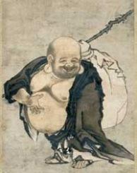 Zen Monk with Knap Sack