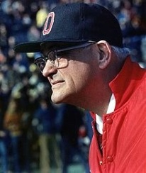 Woody Hayes on the OSU sideline