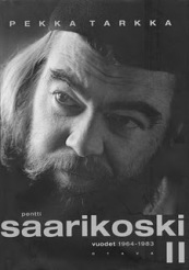 Pekka Tarkka's biography of Saarikoski book cover