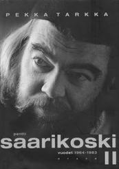 Pekka Tarkka's biography of Saarikoski book cover
