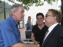 Senator Harkin and Steve Kuusisto