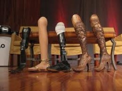 Aimee Mullins leg collection