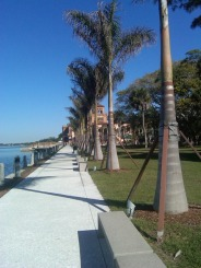 Boardwalk at Ringling Mansion