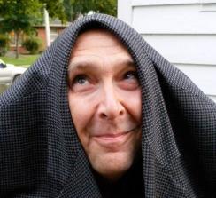 Steve Kuusisto Posing as Marty Feldman
