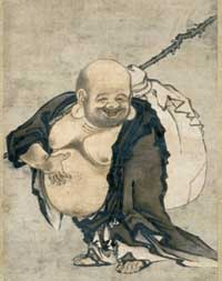 Zen Monk with Knap Sack