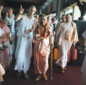 Hare Krishna founder Prabhupada at Airport4 krishna org