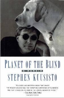 image of planet of the blind book