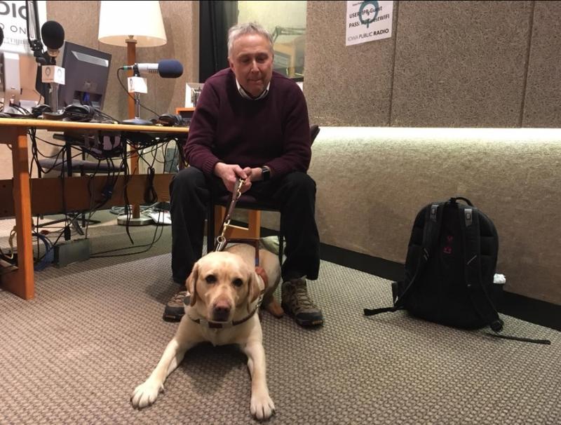 Stephen Kuusisto talks with Charity Nebbe, Talk of Iowa